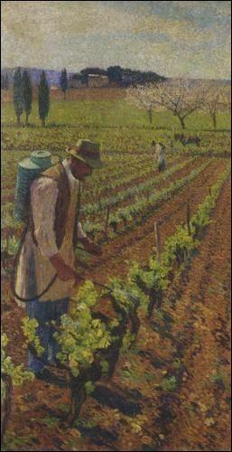 """Qui a peint """"Le Vigneron"""" ?"""