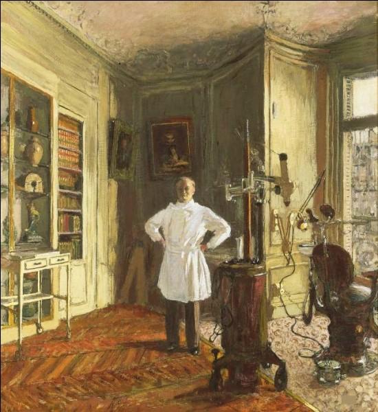 """Qui a représenté """"Le Docteur Louis Viau dans son cabinet"""" ?"""