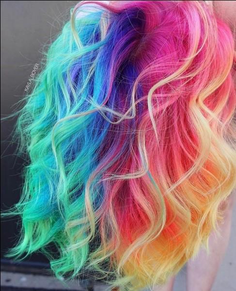 Quelle couleur de cheveux as-tu ?