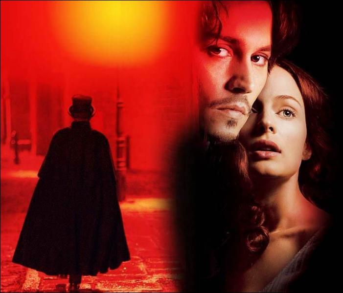 Quel célèbre tueur en série Johnny Depp poursuit-il en 2002 dans 'From Hell' ?