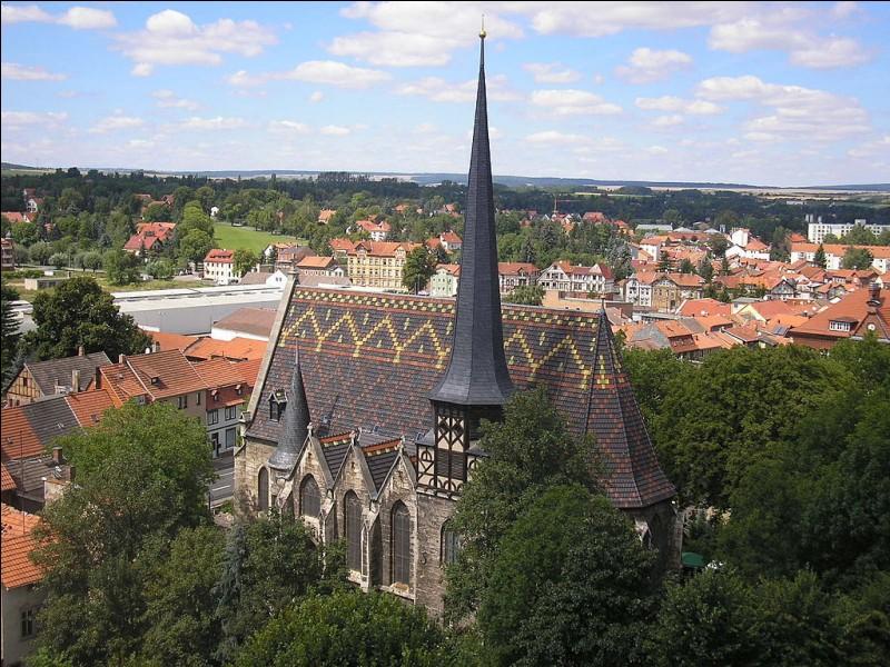 Restons en Alsace : que voyez-vous, de cette bonne ville de Mulhouse ?