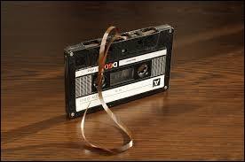 La cassette audio est apparue dans les années 60.