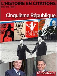 En quelle année débute la Ve République ?