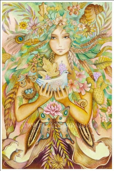Dans la mythologie, qui était la mère des Nymphes, des Cyclopes, et des Titans ?