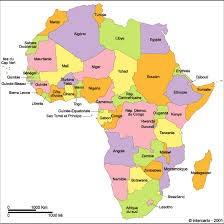 Pays d'Afrique à retrouver. (1)