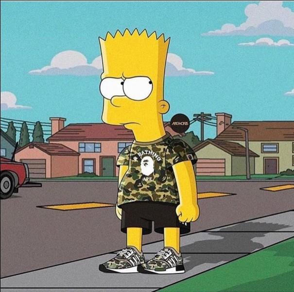 Quelle était la réaction de Bart lors de l'arrivée de Lisa ?