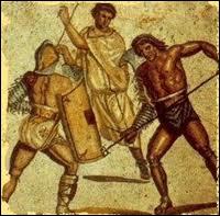 Les gladiateurs étaient uniquement recrutés parmi les esclaves.