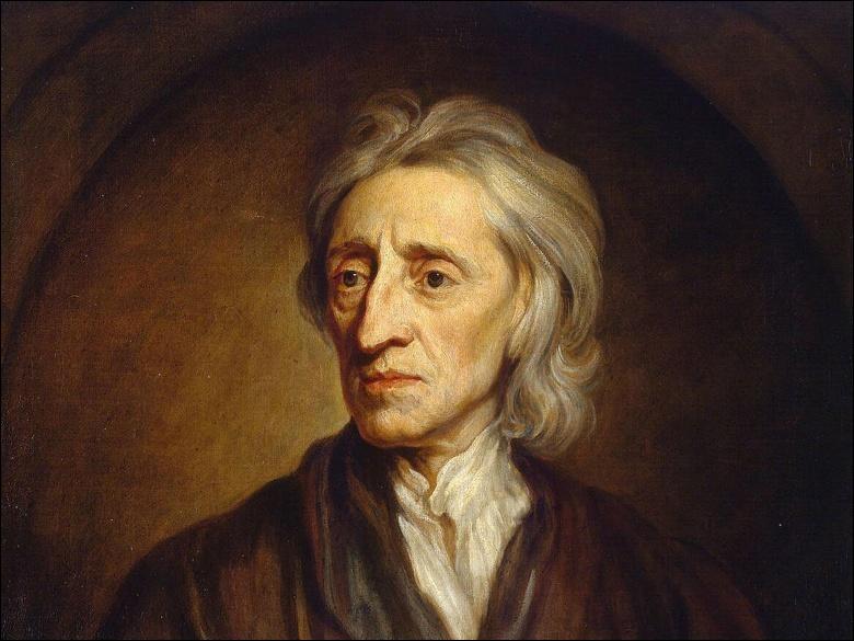 """Ce philosophe du XVIIe siècle, auteur de l'""""Essai sur l'entendement humain"""", considéré comme un des fondateurs de la notion d'État de droit, c'est ..."""