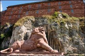 Dans quelle ville peut-on admirer cette statue de lion ?