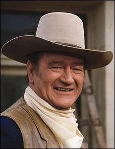 """Cet acteur, qu'on a pu voir dans """"La Chevauchée fantastique"""", """"La Prisonnière du désert"""" ou """"Rio Bravo"""", c'est ..."""