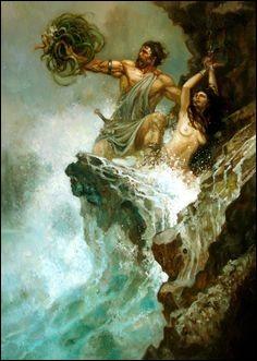 Le héros Persée délivra cette splendide princesse fille de Cassiopée d'un horrible supplice. Qui est-elle ?