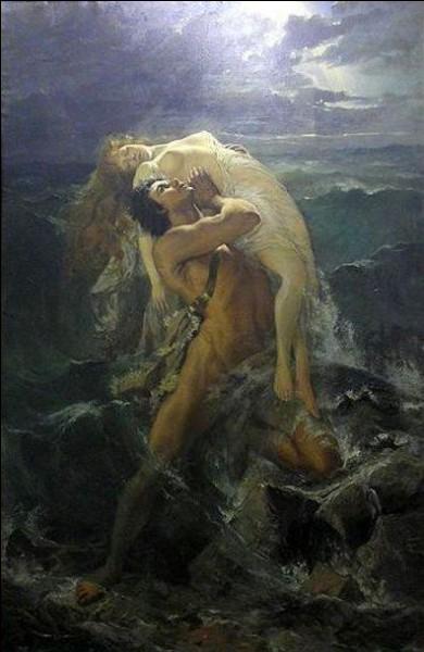 Zeus décida d'exterminer la race humaine afin d'en créer une nouvelle. Il provoqua alors un déluge mortel qui détruisit tout sur son passage, seulement deux survécurent. Qui sont-ils ?