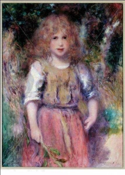 """Qui a peint """"La Petite Bohémienne"""" ?"""