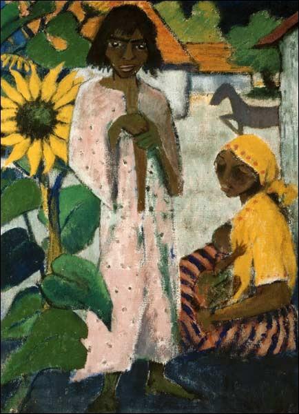"""Qui a peint """"Gypsy aux fleurs"""" ?"""