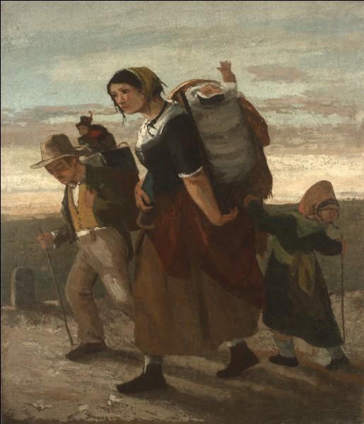 """Qui a peint """"Bohémienne et ses enfants"""" ?"""