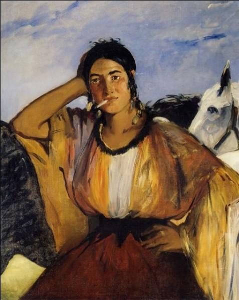 "Qui a peint ""La Gitane à la cigarette"" ?"