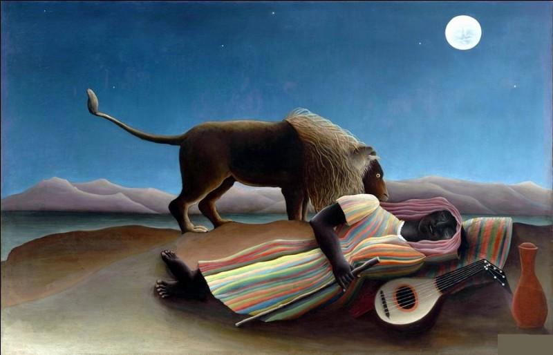 """Qui a peint """"La Bohémienne endormie"""" ?"""