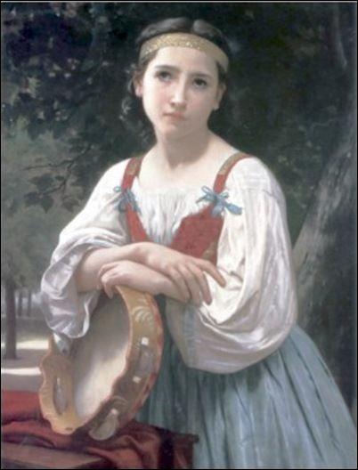"""À qui appartient """"La Bohémienne au tambourin"""" ?"""