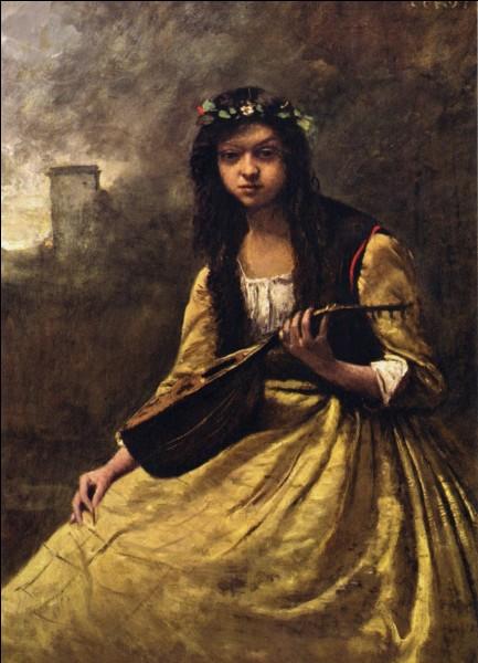 "Qui a peint ""Gypsy à la mandoline"" ?"