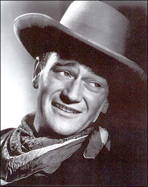 Dans lequel de ces films John Wayne n'a-t-il jamais joué ?