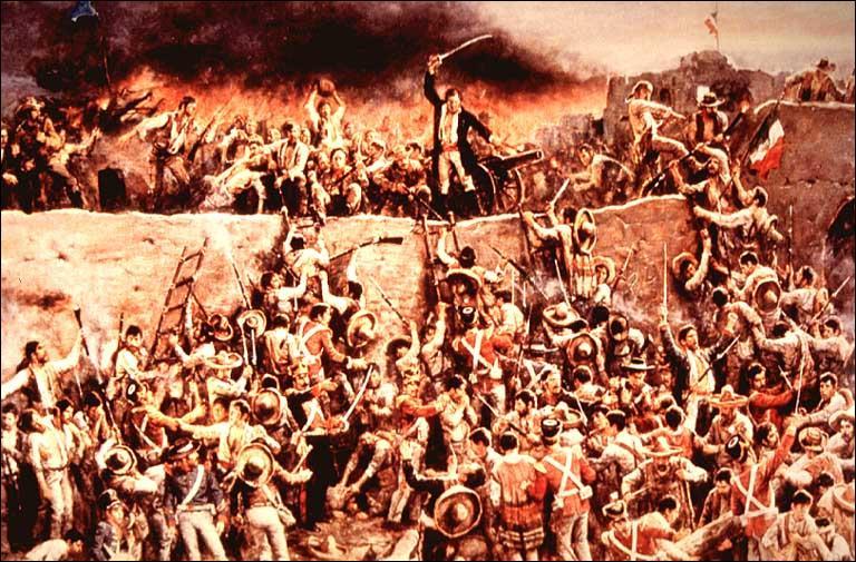 Quelle armée s'empare de Fort Alamo en mars 1836 ?