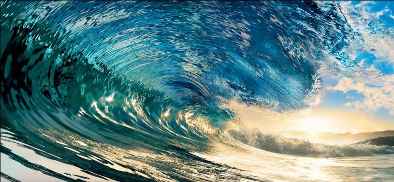 """""""La mer est en bleu entre deux rochers bruns"""", comment le poète l'aimerait-il ?"""