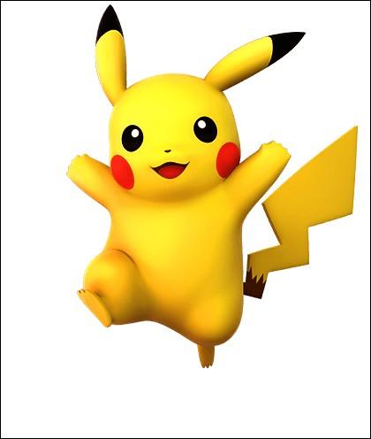 Pikachu et le numéro__ dans le Pokédex.