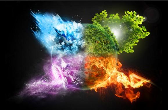 Quel élément de la nature te définit ?