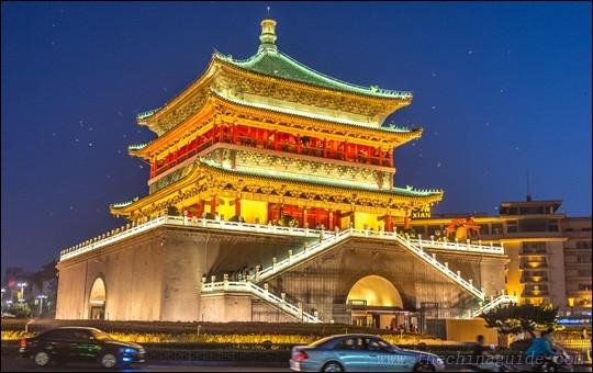 Dans quel pays vivent les 8 500 000 habitants de Xi'an ?