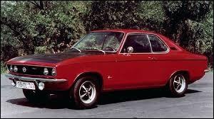 Concurrente de la Ford Capri. Cette auto du groupe GM est aussi connue pour avoir participé en rallye dans le groupe B. Quelle est cette auto ?