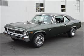 Voici une Chevrolet Nova de troisième génération. De 1962 à 1967, cette Chevrolet a porté un autre nom. Quel était son nom ?