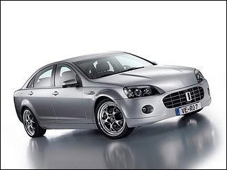 Le constructeur automobile Bitter produit des Opel modifiées. Cette Bitter Vero fait exception car elle repose sur un autre modèle du groupe GM. Quelle est-elle ?