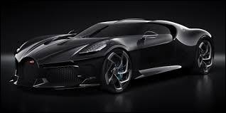 Vous avez sûrement reconnu la Bugatti, la voiture noire présentée à Genève en 2019. Quel modèle l'inspira ?