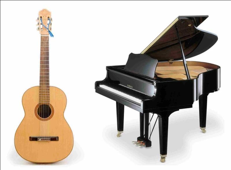 Quel instrument aimes-tu jouer ?