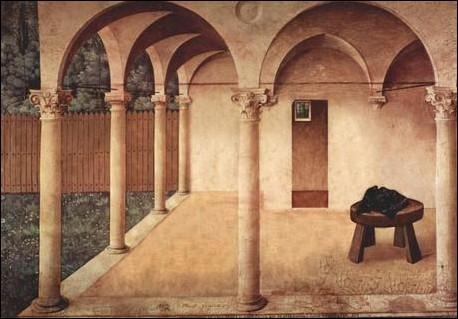 """Non, cette peinture ne s'appelle pas """"6 colonnes à la une"""" ! Il y avait des personnages. Mais lesquels ?"""