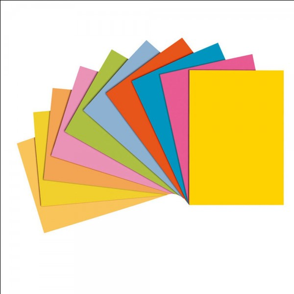 Dans quelle couleur de poubelle jetez-vous le papier ?