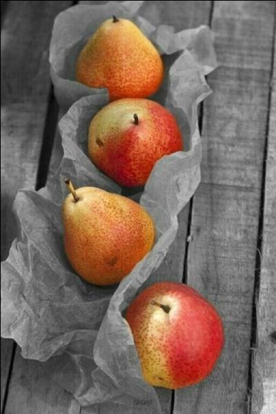 Laquelle de ces variétés ne correspond pas à une poire ?