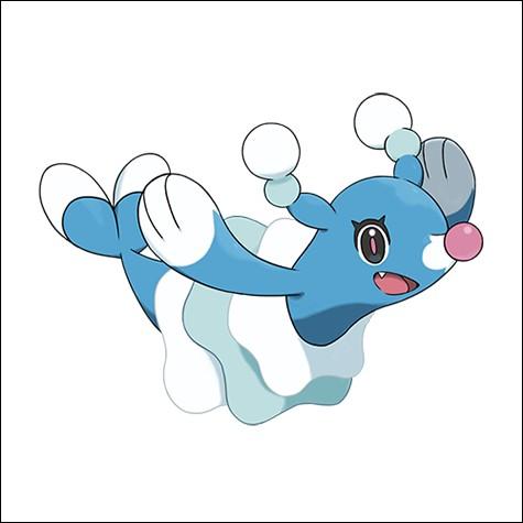 Sur cette photo, on peut voir Otarlette le Pokémon type Eau.
