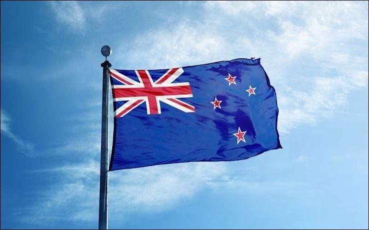 Sur cette photo, on peut voir le drapeau Nouvelle-Zélande ?