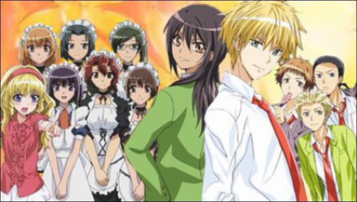 Qui sont les personnages principaux de ce manga ?