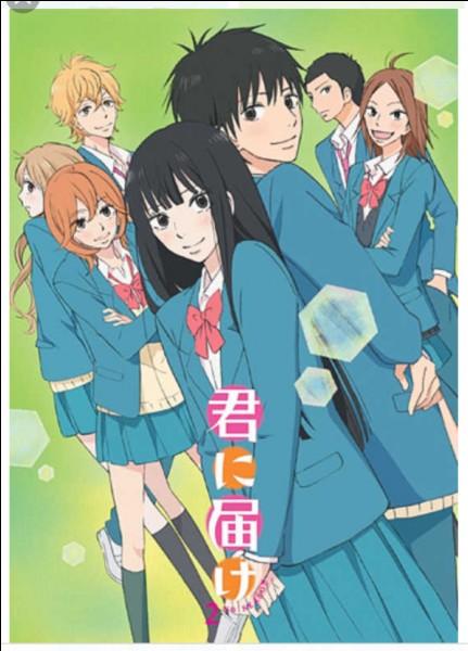 Dans ''Kiminitodoke'', comment s'appellent les 2 meilleures amies de la protagoniste ?