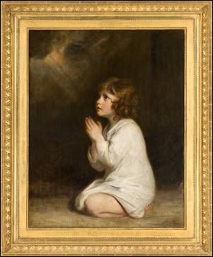 """Qui a peint """"Le petit Samuel en prière"""" ?"""