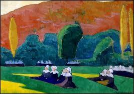 """Qui a peint """"Les femmes bretonnes à la prière"""" ?"""