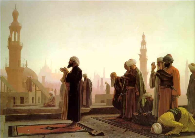 """Qui a peint """"Prière au Caire"""" ?"""