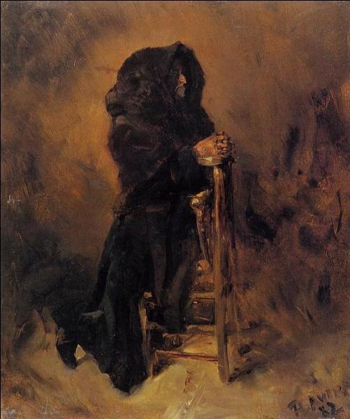 """Qui a peint """"Femme dans la prière"""" ?"""