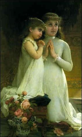 """Qui a peint """"La prière du soir"""" ?"""