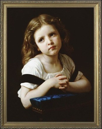 """Qui a peint """"La prière"""" ?"""