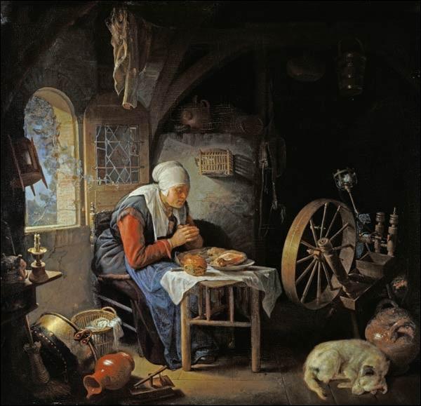 """Qui a peint """"La prière de l'ogive"""" ?"""