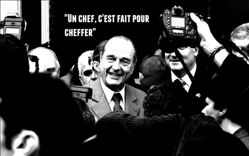 Perle écolière. Jacques Chirac vient à l'école ...