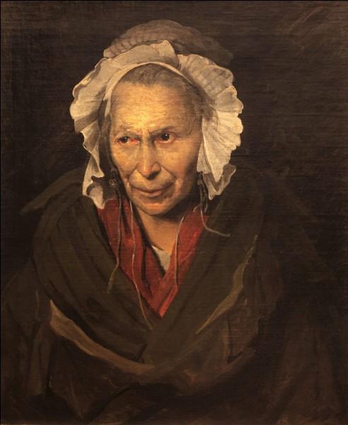 """A quel peintre, plus connu pour son """"Radeau de la Méduse"""", doit-on cette toile intitulée """"La Monomane de l'envie"""" ?"""